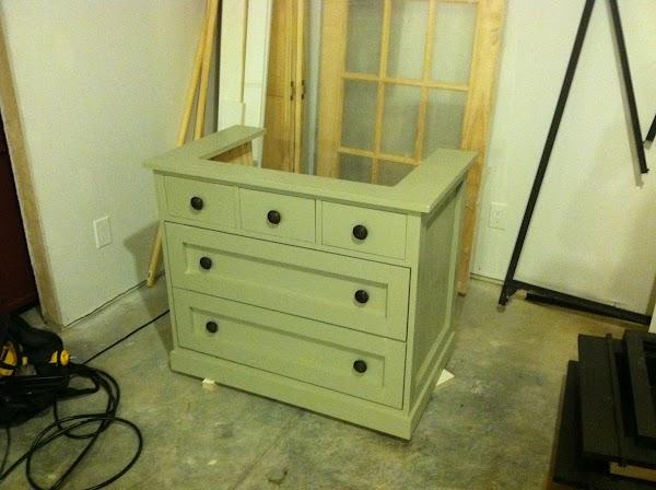 DIY Sink cabinet