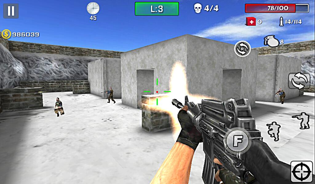 Gun Strike Shoot Screenshot 1