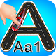 Road Tracing Book - Alphabets & Numbers Tracing