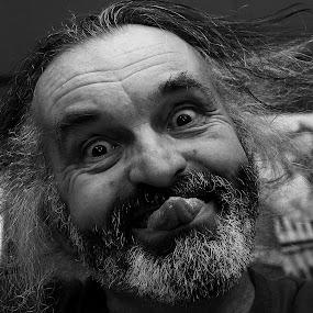 Blee by Mirjana  Bocina - People Portraits of Men ( humor, zeljko tutnjevic, people,  )