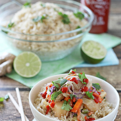 Thai Chicken Bowls