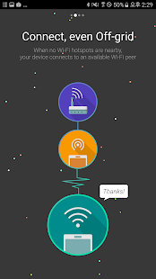 App Anyfi - Free P2P WiFi APK for Windows Phone