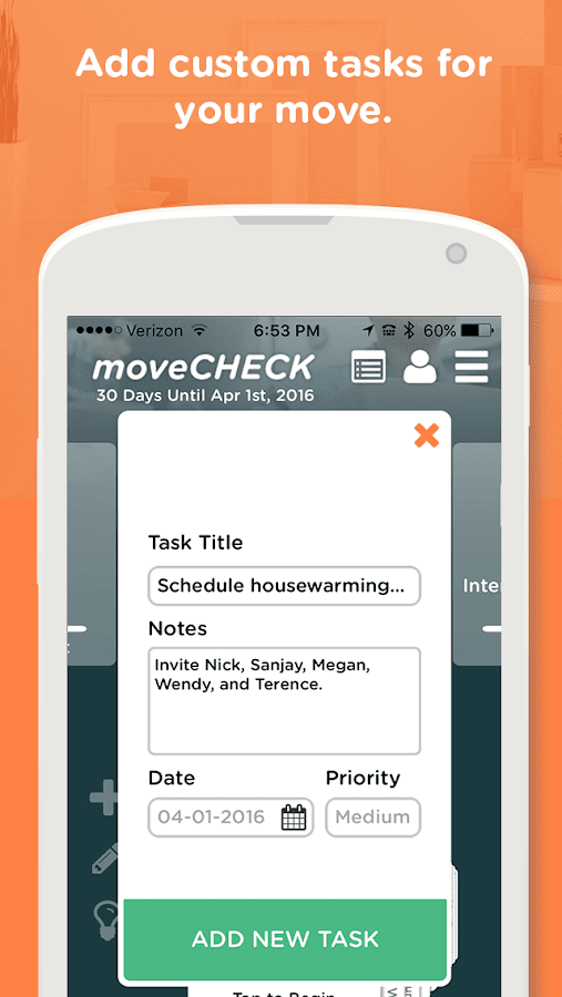 moveCHECK Screenshot 3