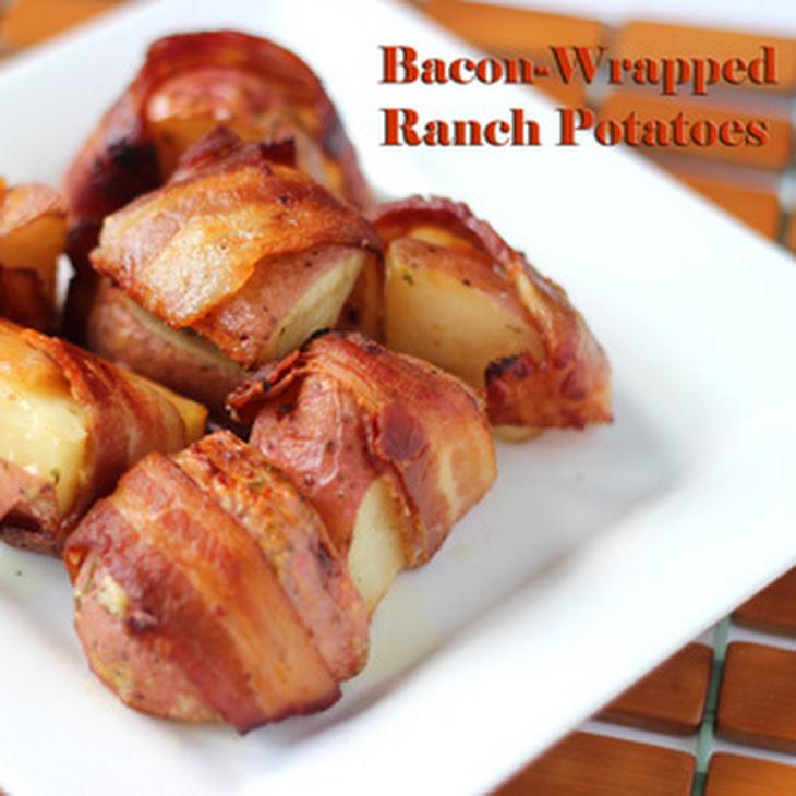 Bacon-wrapped Ranch Potatoes Recipe | Yummly