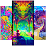 Acidmath Psychedelic Art Wallpapers Icon