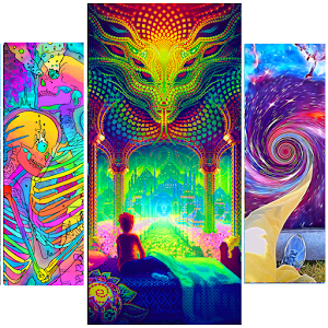 Download Acidmath Psychedelic Art Wallpapers For PC Windows and Mac