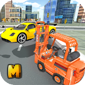 Real Car Traffic Forklift Sim APK for Bluestacks