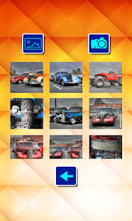 Puzzle Slide - Amazing Cars - screenshot