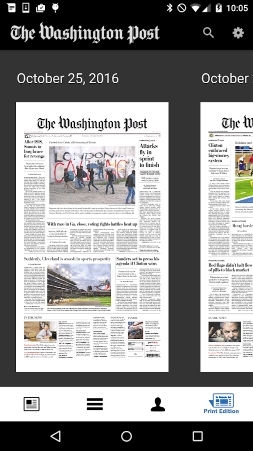 The Washington Post Classic Screenshot 5
