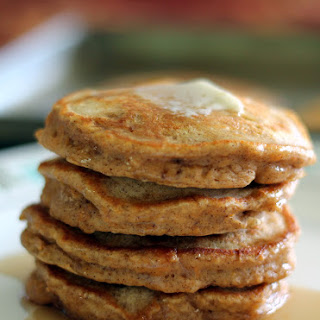 Chai-Spiced Sweet Potato Pancakes