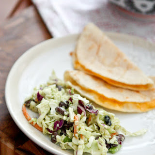 Mexican Slaw Salad with Black Beans