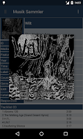 Screenshot of Musik Sammler (Unofficial)