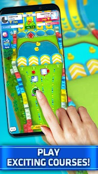 Mini Golf King - Multiplayer Game apk screenshot