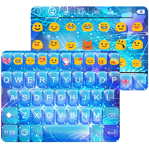 Horoscope Emoji Keyboard Theme