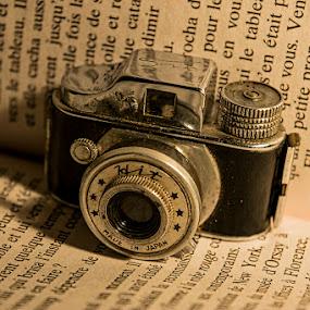Mini Spy Camera by Sergio Yorick - Artistic Objects Technology Objects ( camera, artistic, object, antique, miniature )