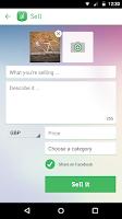 Screenshot of Shpock boot sale & classifieds