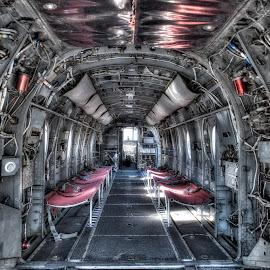 CH-46 Sea Knight by Armen Melik-Abramians - Transportation Airplanes ( san diego, midway )