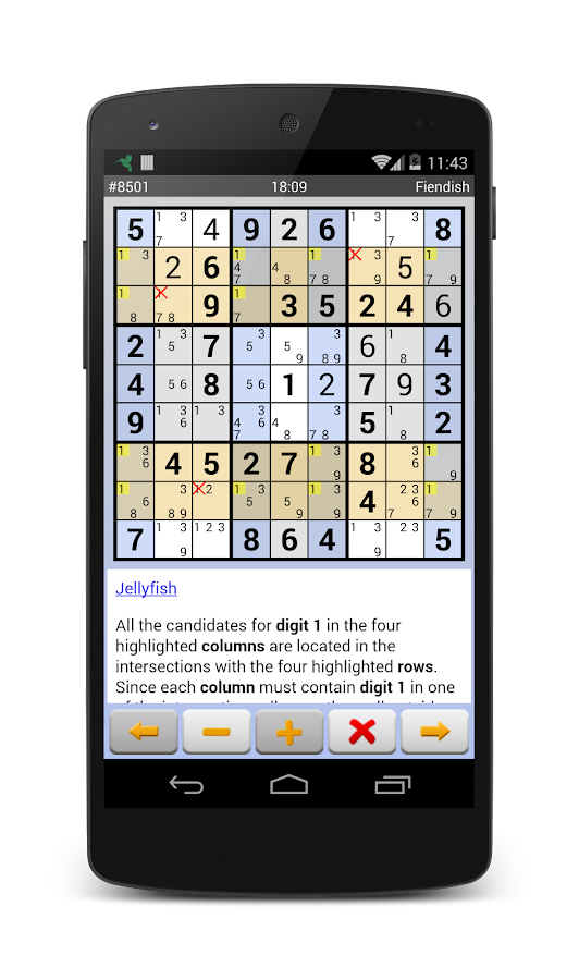 Sudoku Grab'n'Play Plus Screenshot 5