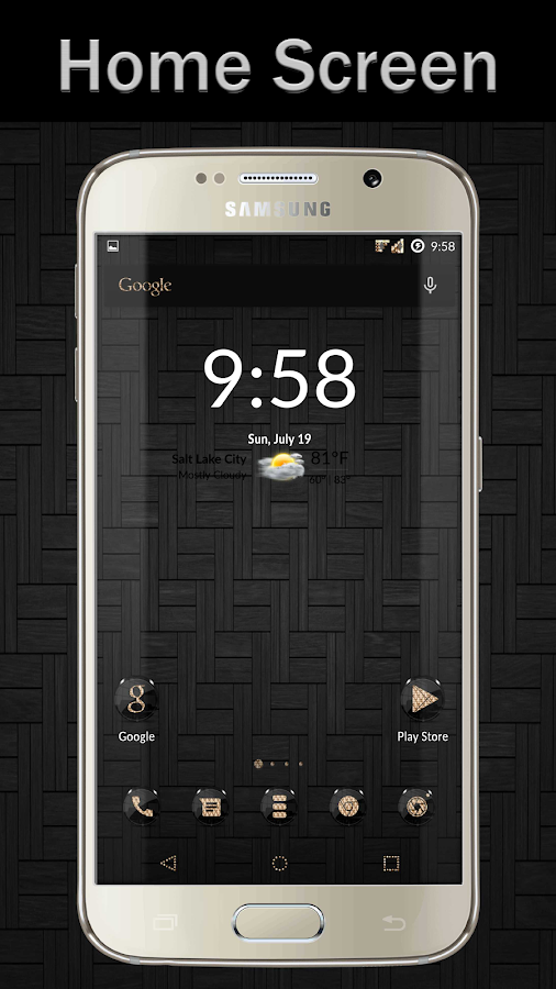 Black Gold CM12 CM13 Screenshot 0
