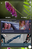 Screenshot of WeVideo Video Editor