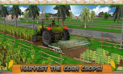 Corn Farming Tractor 2016 - screenshot