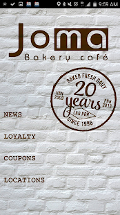Joma Bakery Cafe - screenshot