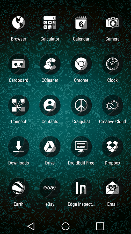 Naz Transparency - Icon Pack Screenshot 4
