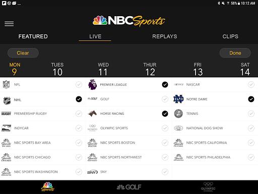 NBC Sports screenshot 7