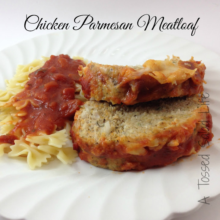 Chicken Parmesan Meatloaf Recipe | Yummly