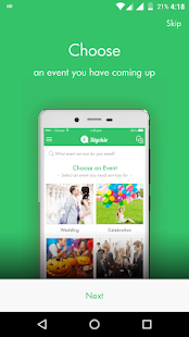 Styckie - Get Event Services Business app for Android Preview 1