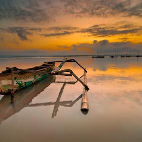 perahu Batu Jai by Yermia Satriawan - Landscapes Sunsets & Sunrises