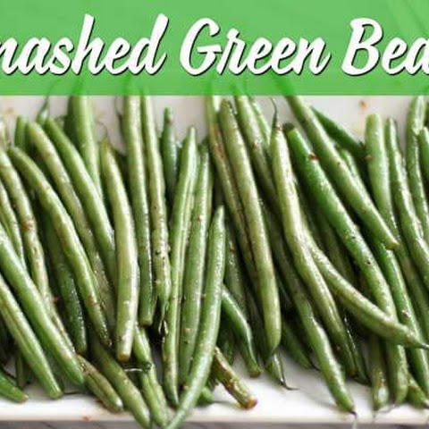 Smashed Green Beans