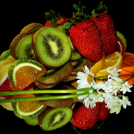 fruits,candy and flowers by LADOCKi Elvira - Food & Drink Fruits & Vegetables ( fruits )