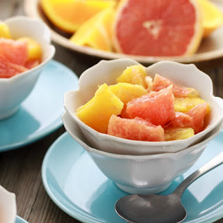 Easy Low Calorie Orange and Grapefruit Salad
