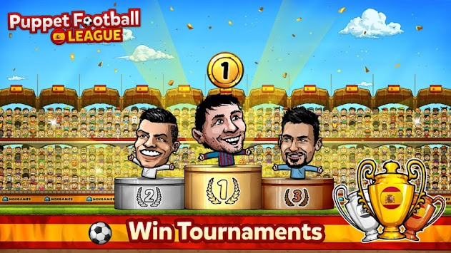 Puppet Football Spain CCG/TCG APK screenshot thumbnail 5