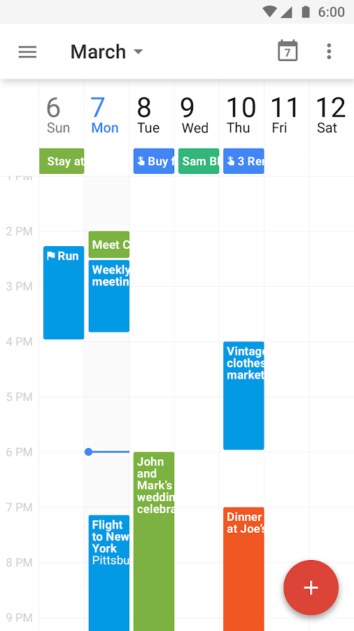 Google Calendar Screenshot 3