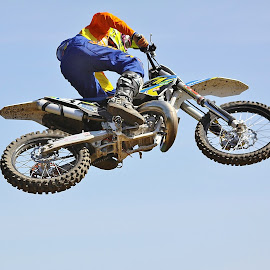rider in the sky by Colin Verrill - Sports & Fitness Motorsports ( southtees 1ab )