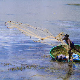 Fisher Man by Dinesh Royal - Professional People Business People