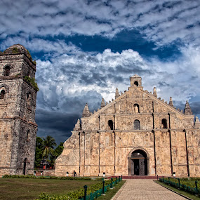 Paoay Church @ Ilocos by Jon Gonzales - Landscapes Travel ( ilocos, church, paoay )