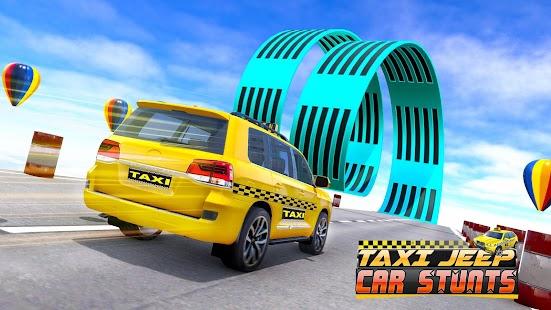 Taxi Car Stunts 2 Games 3D: Ramp Car Stunts for pc