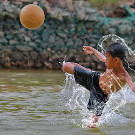 Kungfu Soccer by Uda Dennie - Sports & Fitness Soccer/Association football ( udadennie, soccer )