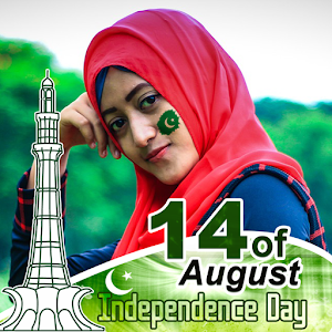 Download Pak Flag Face Sticker- Jashne Azadi For PC Windows and Mac