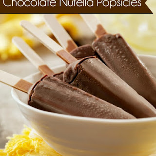 Chocolate Nutella Popsicles