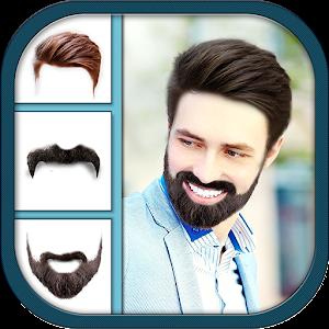 Man Hair Mustache Style Pro Boy Photo Editor Android