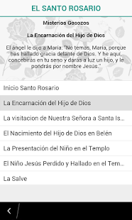 El Santo Rosario Audio (Free) - screenshot
