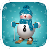 Free Branco White Christmas Theme APK for Windows 8
