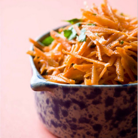 French Grated Carrot Salad