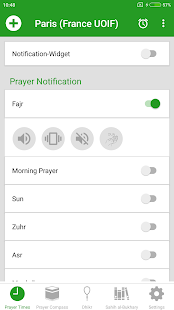 Prayer Time - Horaire prière APK for Bluestacks