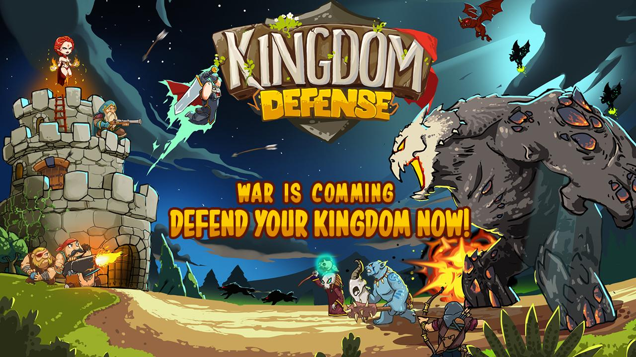 Kingdom Defense: Epic Hero War Screenshot 1