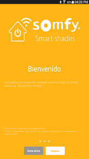 Somfy Smart Shades - screenshot